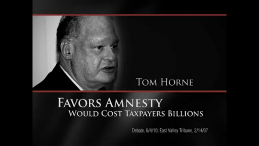 Sheriff Joe Arpaio attacks Tom Horne